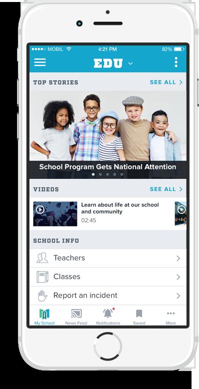 K-12 Mobile App