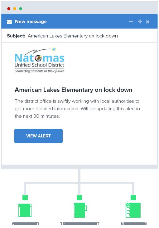K-12 Email Alert